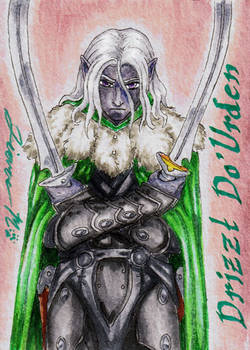 Drizzt Do'Urden  Playing Card