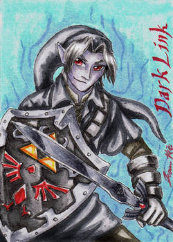 Dark Link - Playing Card - V.2