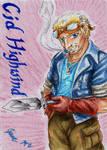 Cid Highwind - Playing Card