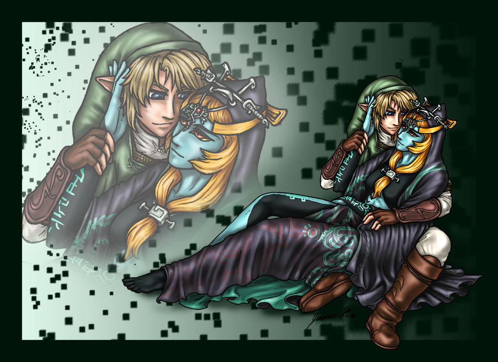 Link x Midna - Color