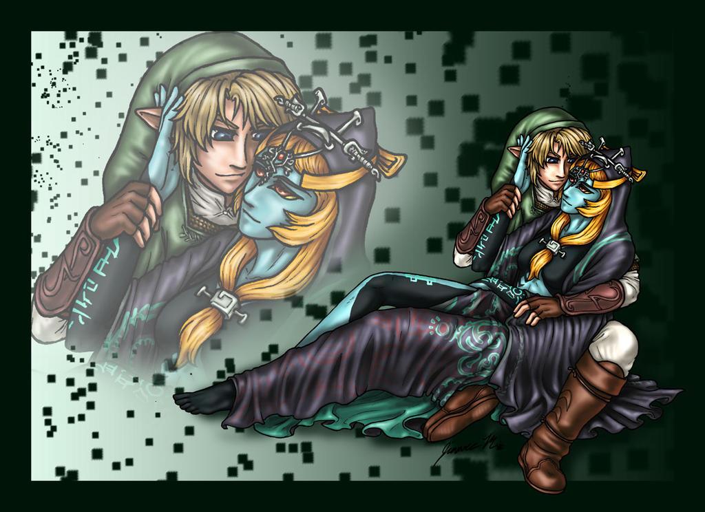 Link x Midna - Color