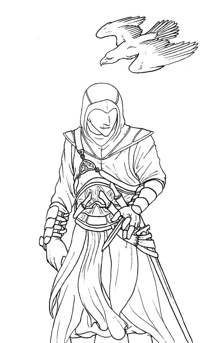Altair Line Art by Jianre-M