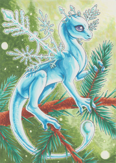 Snowflake Dragon by Jianre-M