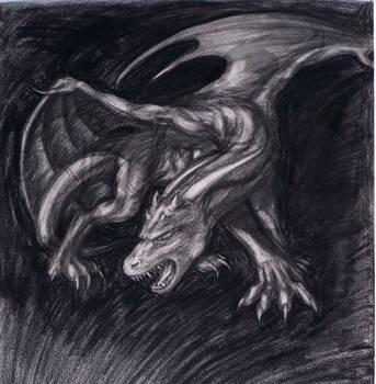 Charcoal Dragon by Jianre-M