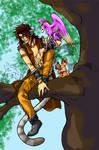 Cat-boy Hero - Colored by Jianre-M