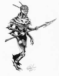 Insectoid warrior