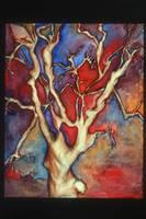 Sunset Tree by eliq