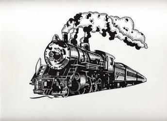 Train Logo by eliq