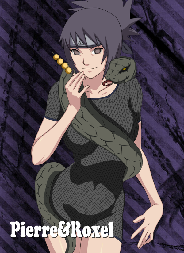 So what happens in Anko's curse mark form?Does her top come off or ...