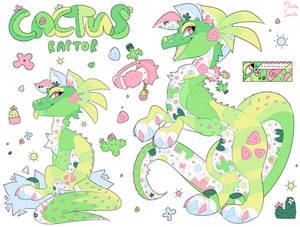 [CLOSED] Cactus Raptor Auction