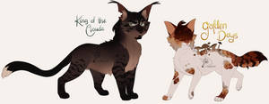 [ adopts ] king of the clouds/golden days (24 HRS)