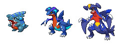 Clone Project- Gible evos by werewolfpokemon