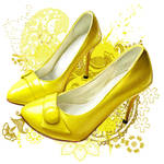 Yellow Shoe by Socialdbum
