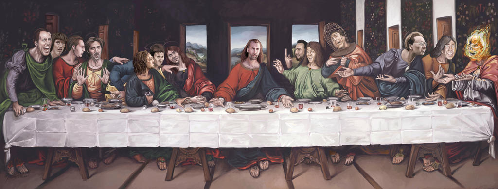 Cameron Poe's Last Supper by Socialdbum