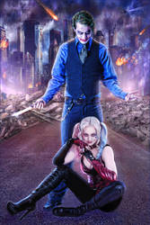 The Joker and Harley Quinn