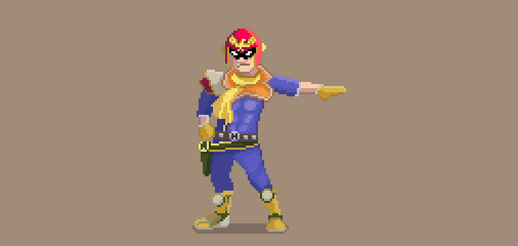 Captain Falcon by SteamFist