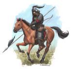 Mongolian heavy cavalry