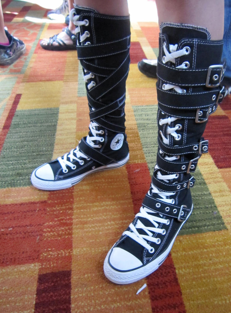 cool shoes at ndk 2010 by lifelostsoul on deviantart