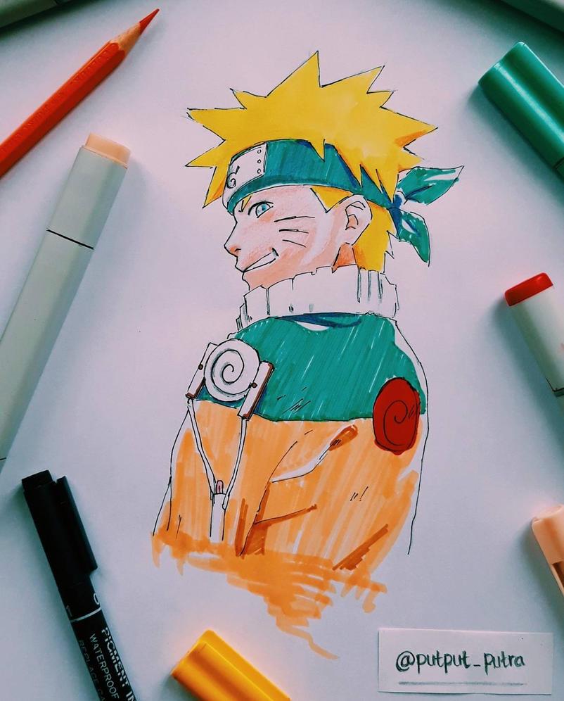 Naruto Uzumaki by exoofink311