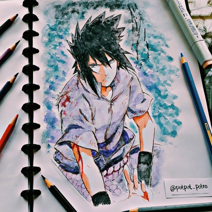 Sasuke Uchiha by exoofink311