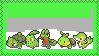 Pokemon - Grass-Starters by EllisStampcollection
