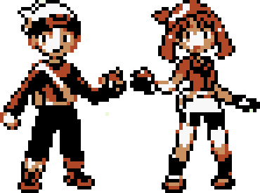 Brendan and May GBC (Ruby and Sapphire) by CK47