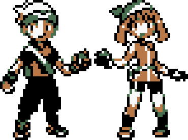 Brendan and May GBC (Emerald) by CK47