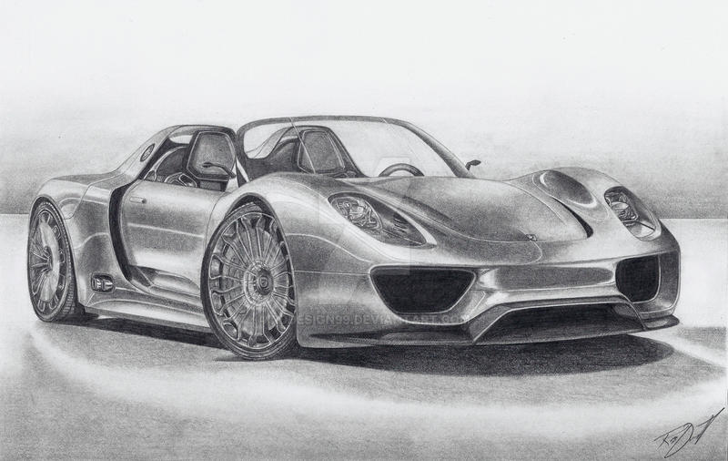 porsche 918 spyder by rddesign99 on deviantart. Black Bedroom Furniture Sets. Home Design Ideas