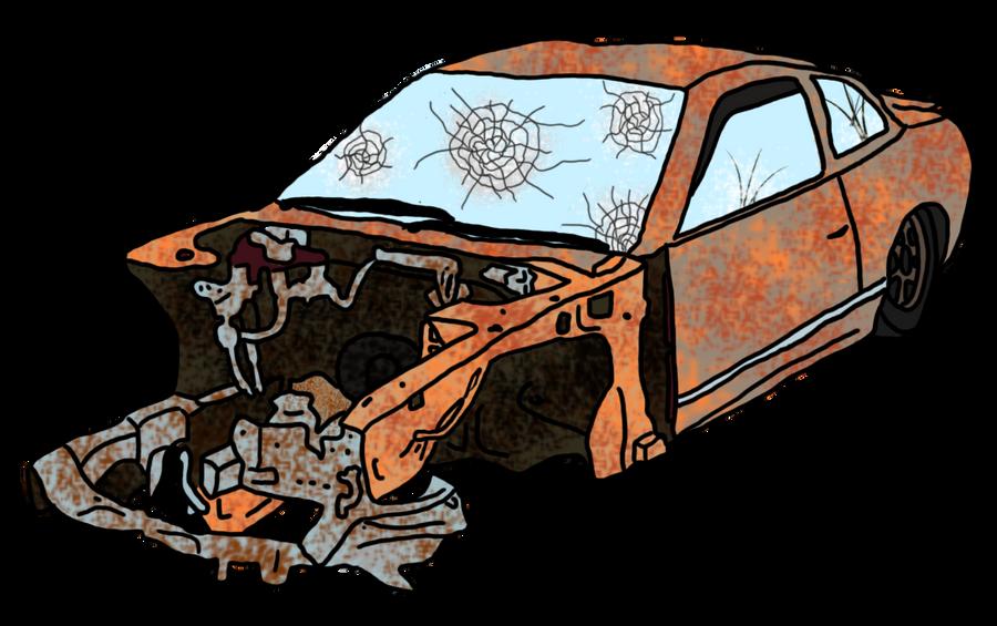 damaged car clipart - photo #18