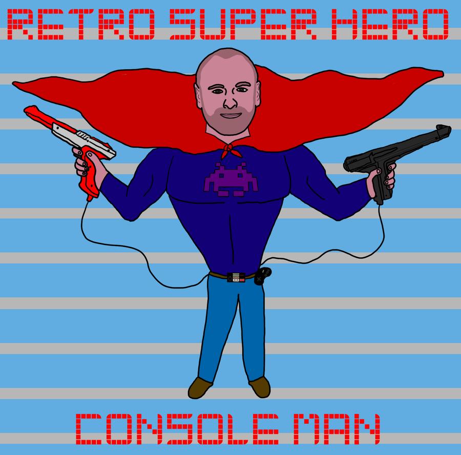 Retro Superhero Art: Retro Super Hero By Dragonbarnesz On DeviantART