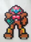 Bead Samus from Metroid