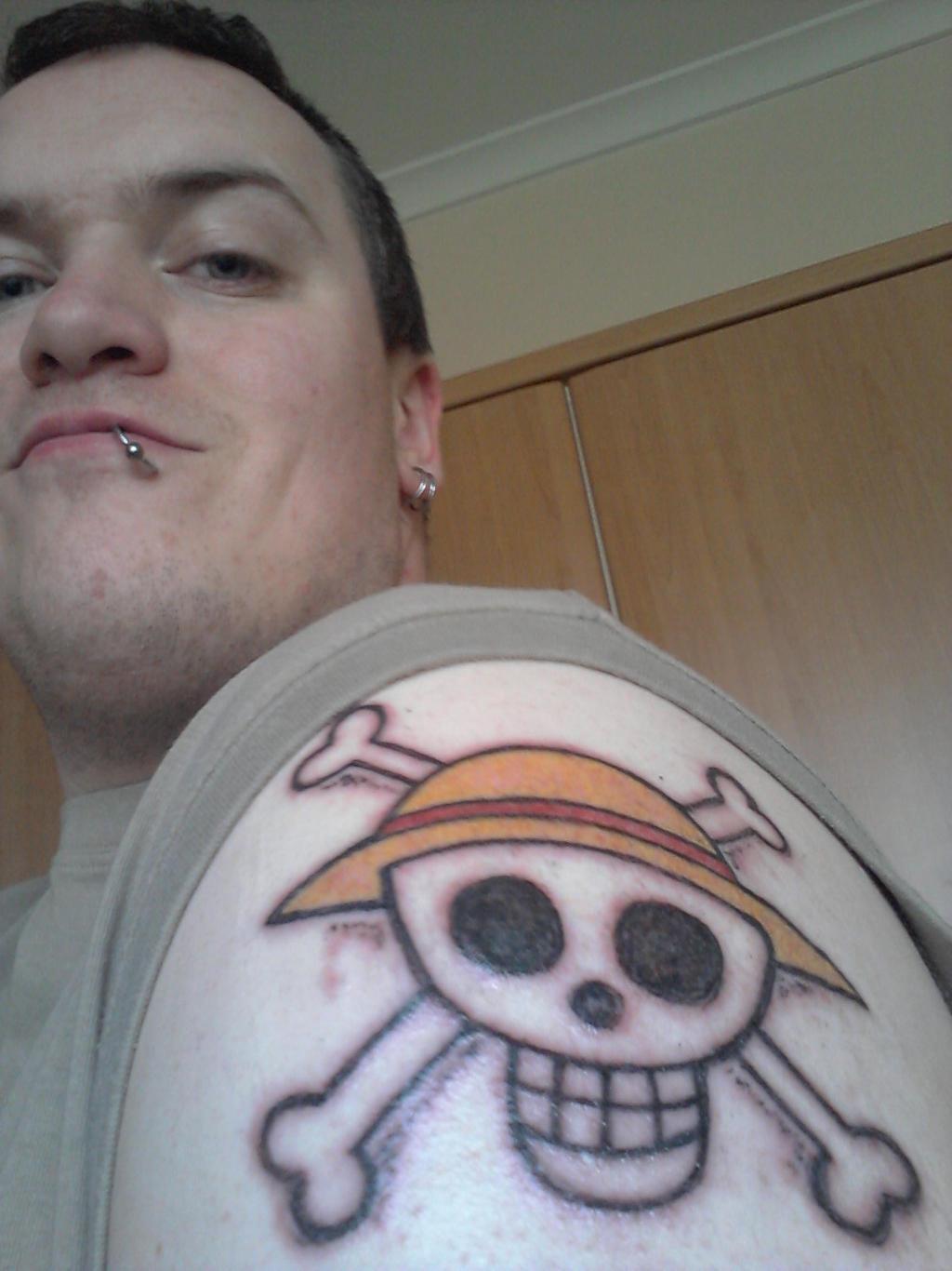One Piece Tattoo by dragonbarnesz