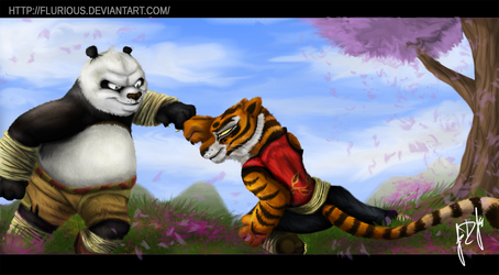 Kung Fu Panda: Hardcore by Flurious