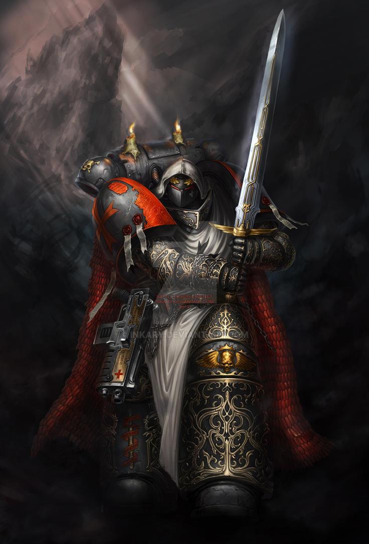 Sword Brother Tyrannus by Inkary