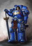 Terminator sergeant Ziegfried Arcanus