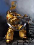 Imperial fists devastator sergeant