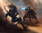 Bring a Plasma Gun To a Sword Fight