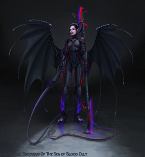 Lanisetha Succubus of The Sea of Blood Cult