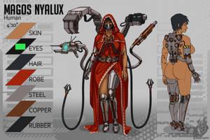 Magos Nyalux reference sheet