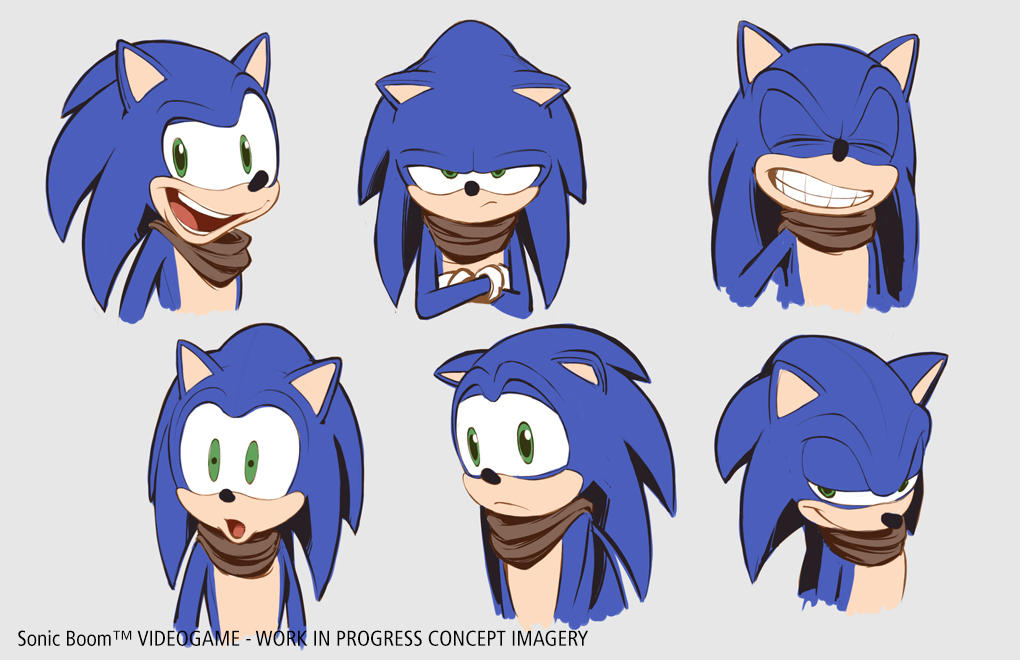 Sonic The Hedgehog Facial Expressions By Sonicboombits On Deviantart