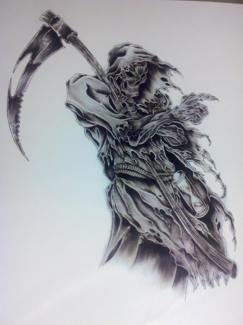 Grim Reaper by captaincorpse666 on DeviantArt