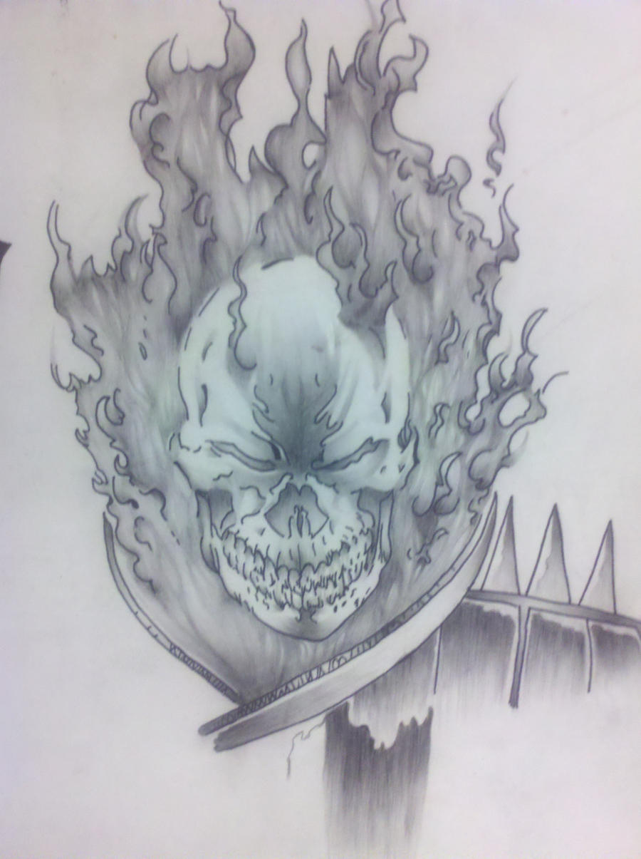 Ghost rider by captaincorpse666 on DeviantArt