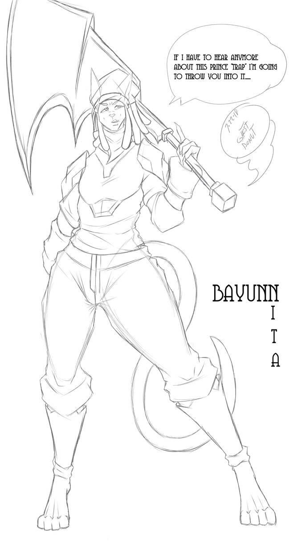 Bayunn by drakkodebayle