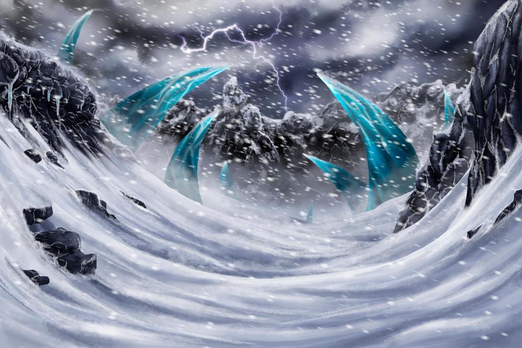 Storm Peaks WIP by Auffallend