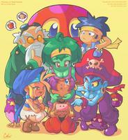 Shantae - Whatcha Playin? by Air-City