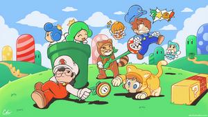 BSC Mario 3D World Thumbnail
