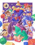Capcom Fighting Tribute - Super Gem Fighter Drop