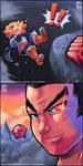 Kazuya Raising Hell In Nintendo by Air-City