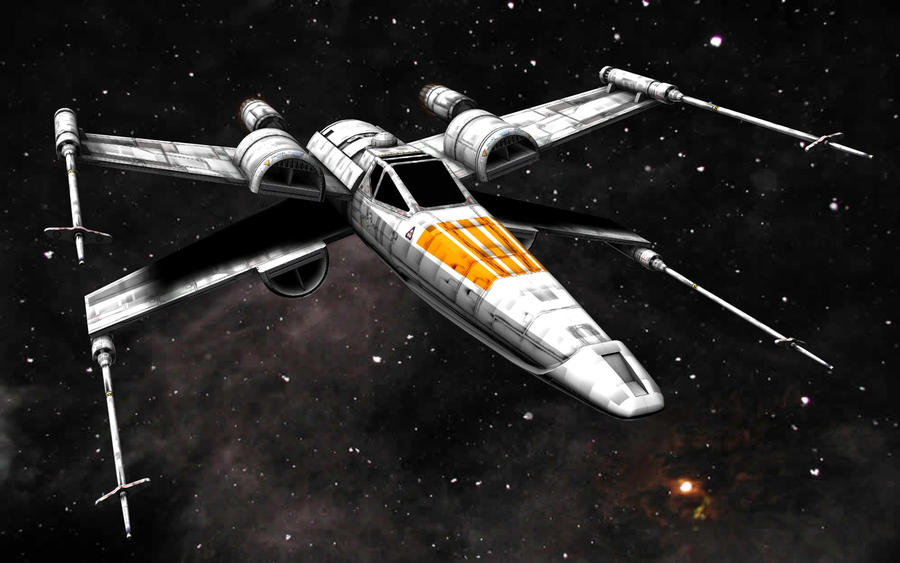 Perfect Mcquarrie X Wing