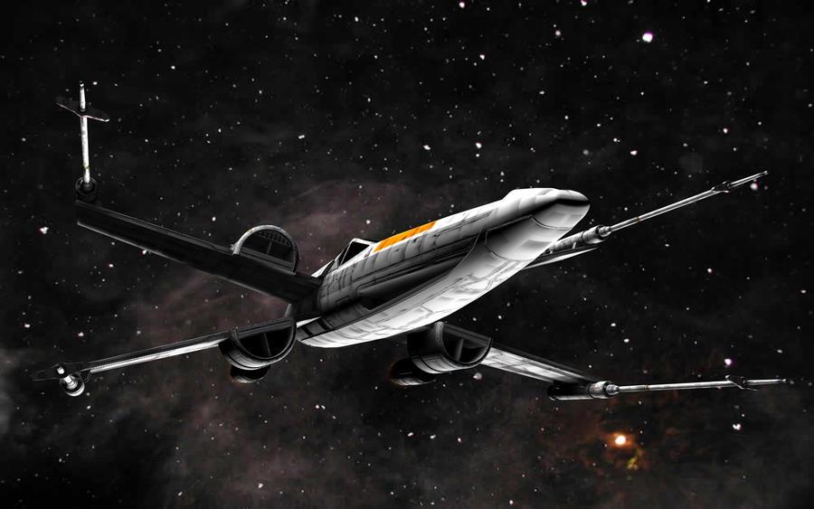 McQuarrie XWing Proto 02 by JefferyWright